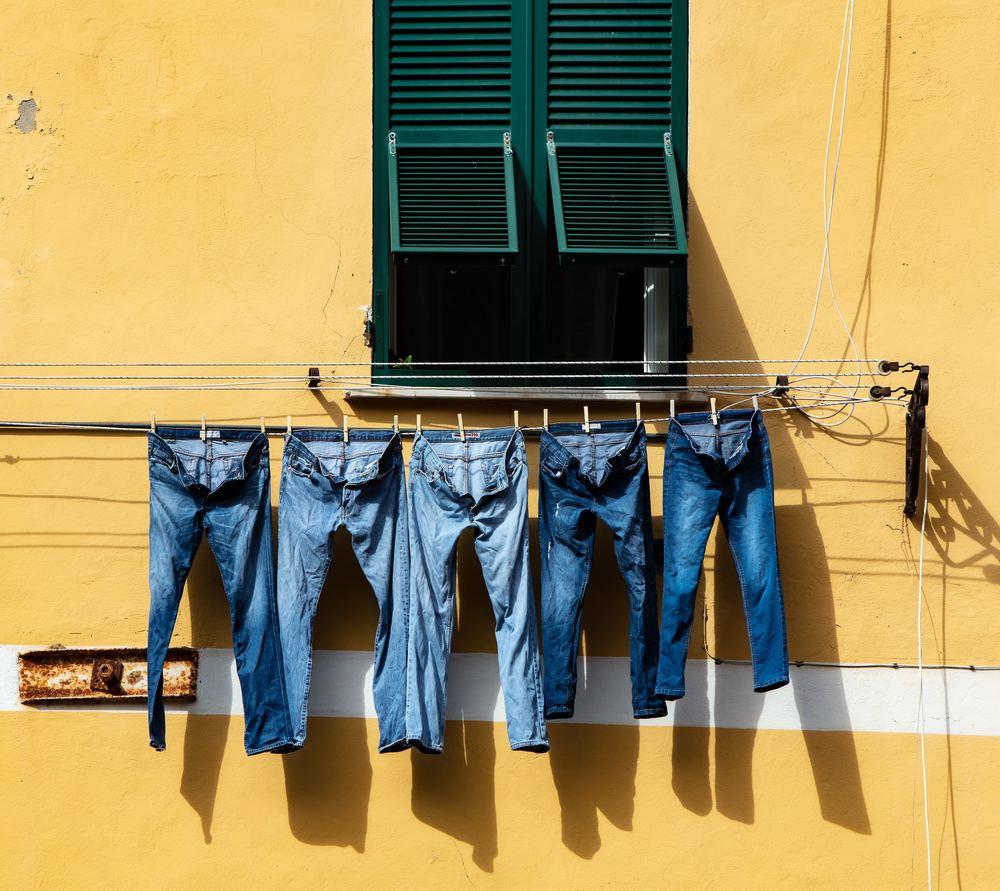 Oändliga varianter av jeans